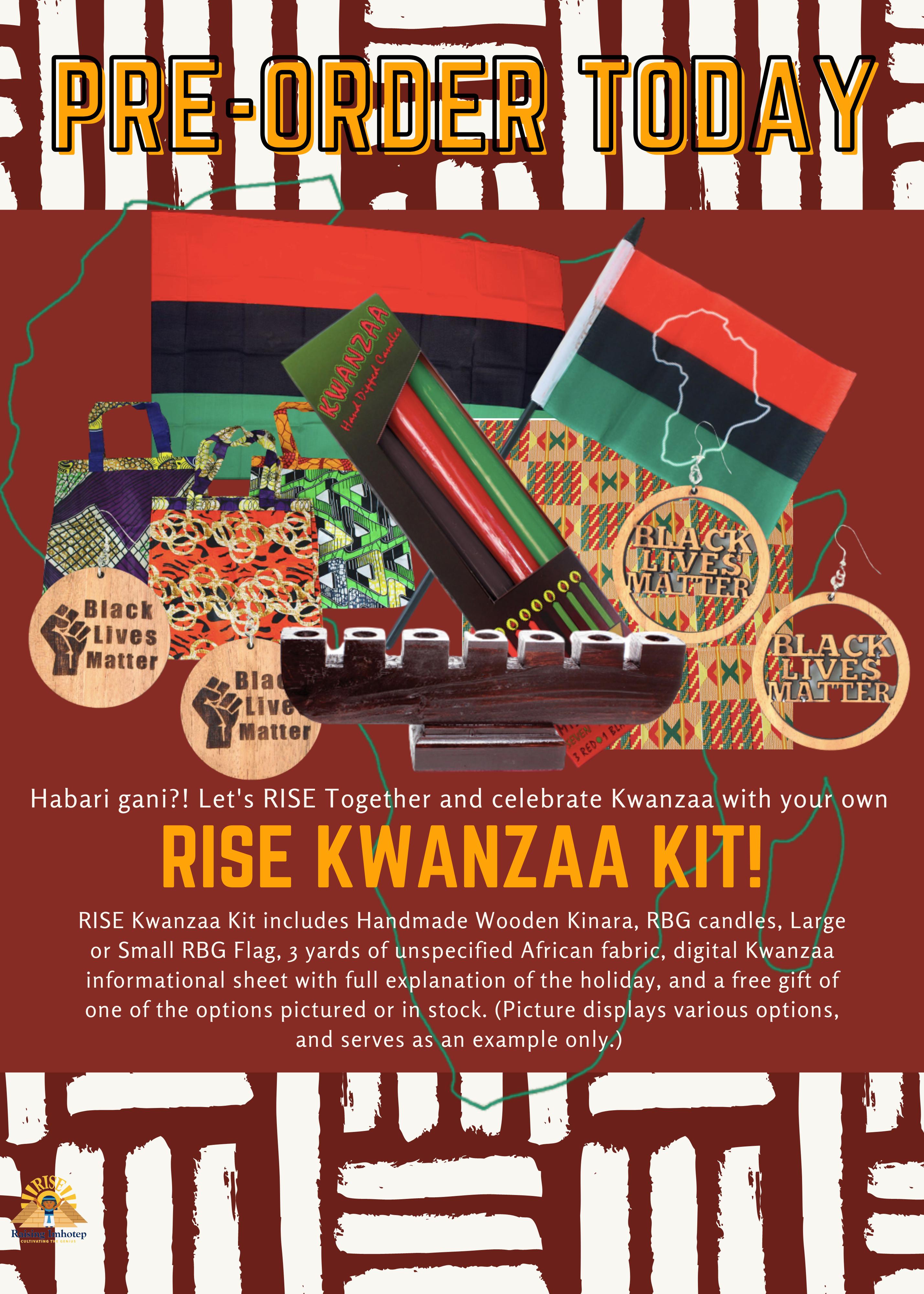 RISE Kwanzaa Kit